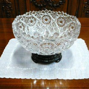Art Deco Glass Centrepiece