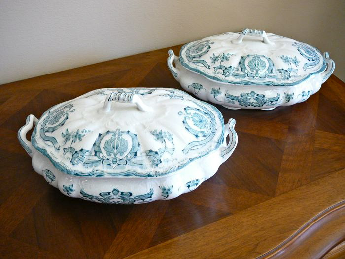 Late Victorian Scalloped Tureens