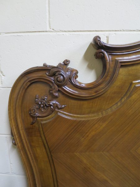 French Louis XV Style Queen Size Bed