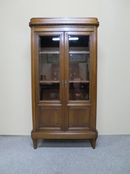 Small French Walnut Bookcase