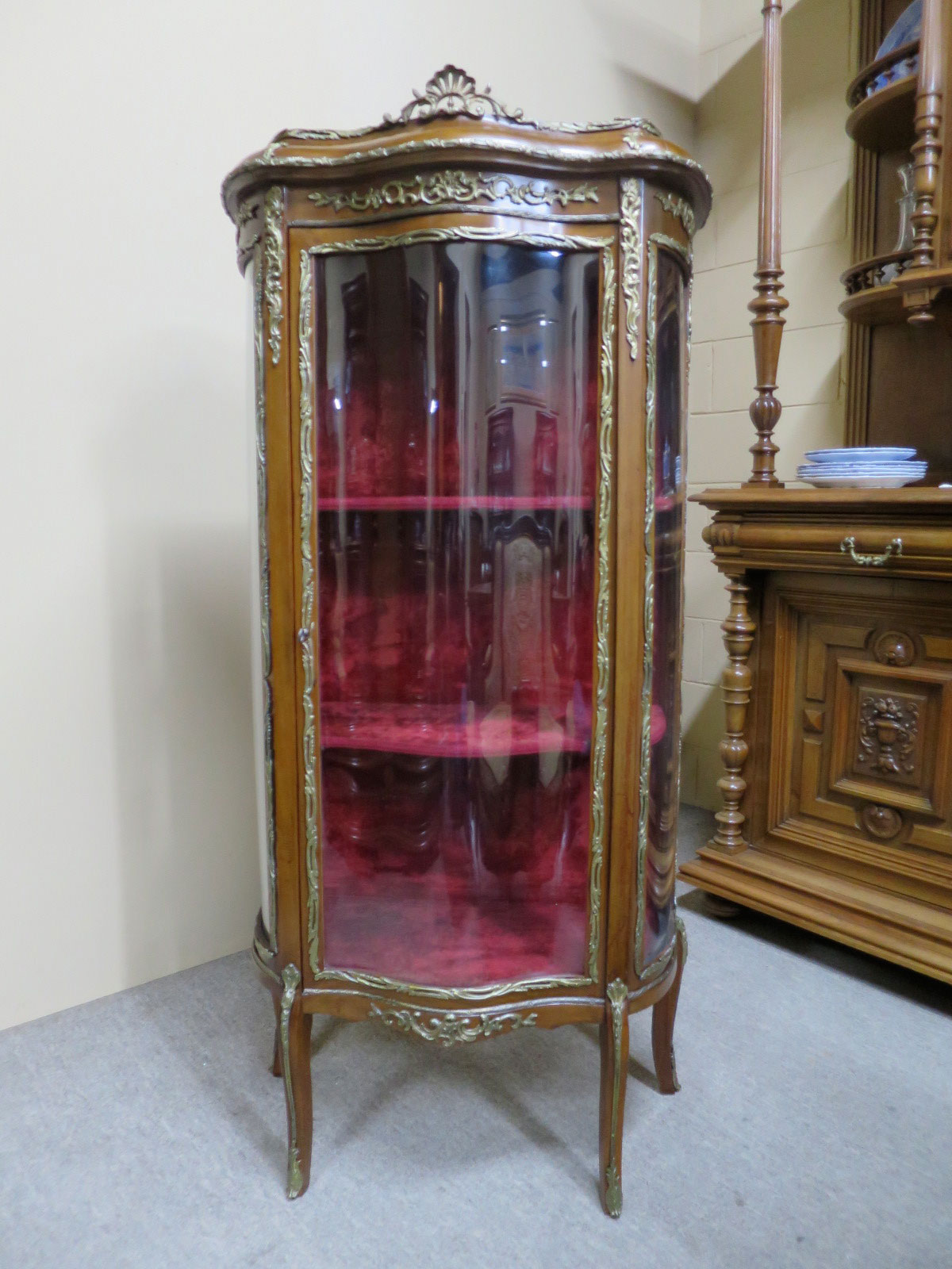 19th Century French Vitrine