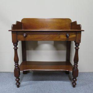 English Mahogany Washstand, c.1870