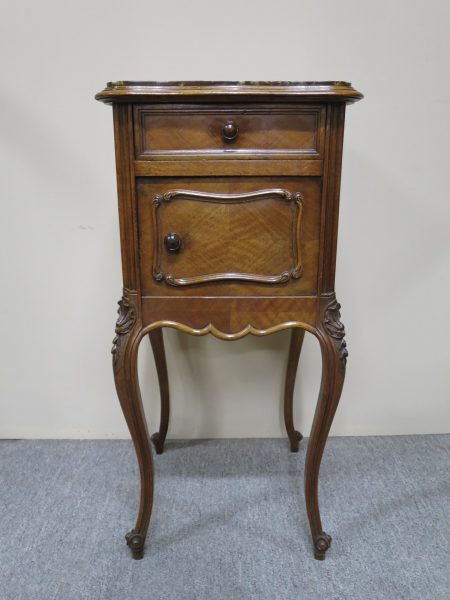 French Walnut Bedside in the Louis XV Style