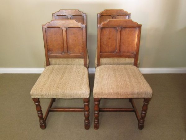 Set of 4 English Country Chairs