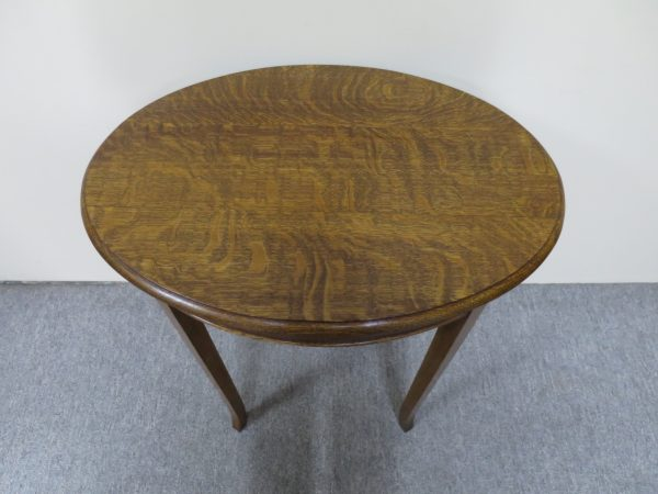 English Oval Occasional Table