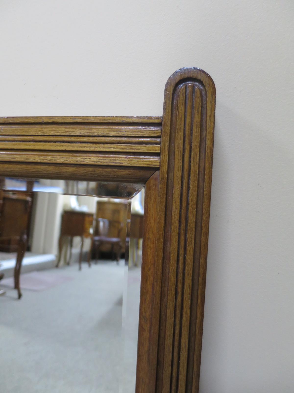 Edwardian Walnut Mirror