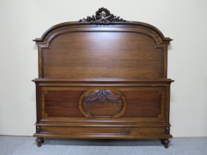 French Mahogany Louis XVI Style Bed