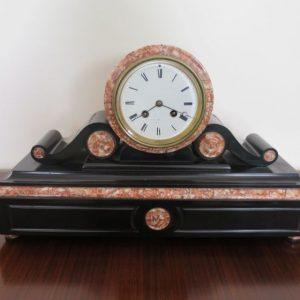 19th Century Marble Mantle Clock