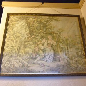 French Vintage Tapestry