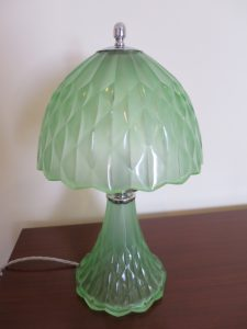 Art Deco Davidson Table Lamp, c.1940