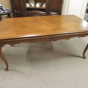 Large French Extension Dining Table