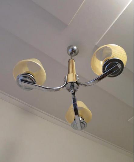 Vintage Art Deco Light Fitting