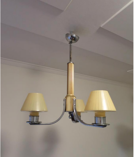 Vintage Art Deco Light Fitting
