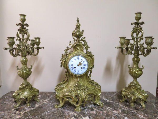 art deco clocks