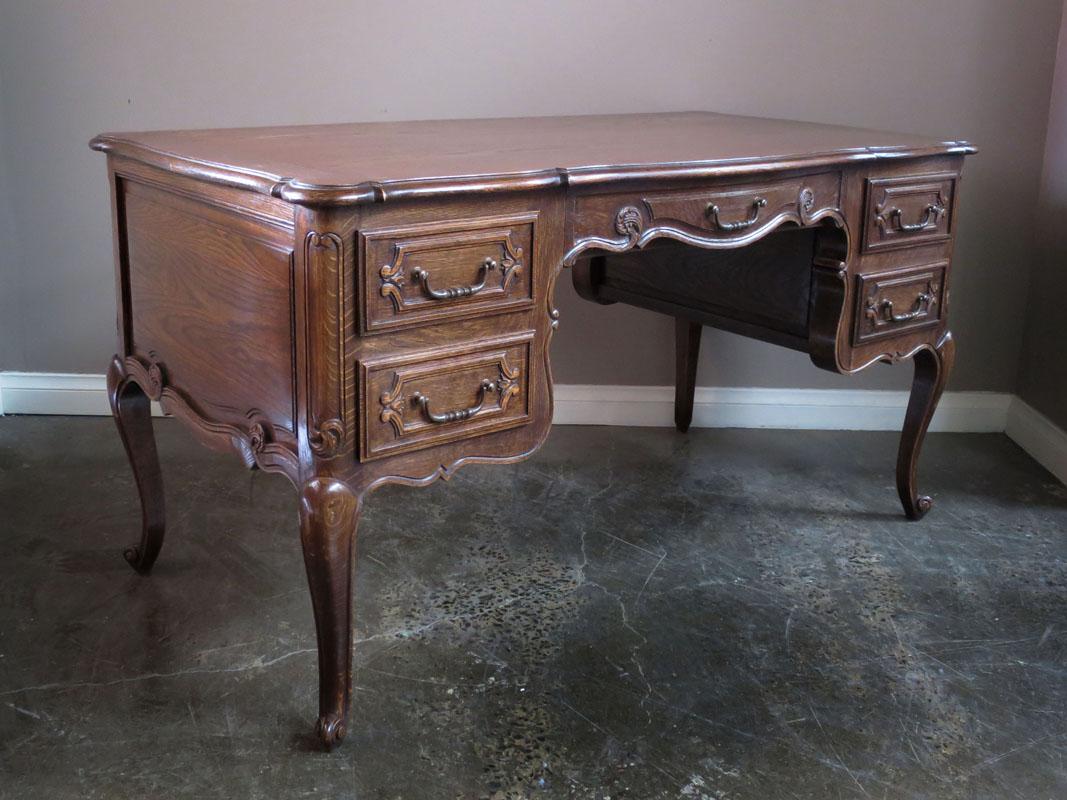 French Oak Desk