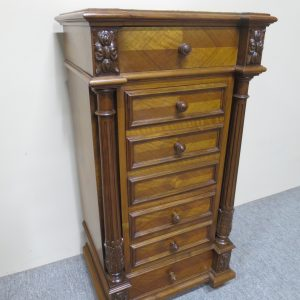 French Walnut Bedside