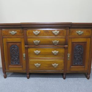 Edwardian Walnut Sideboard