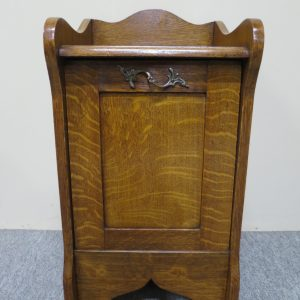 English Oak Coal Scuttle