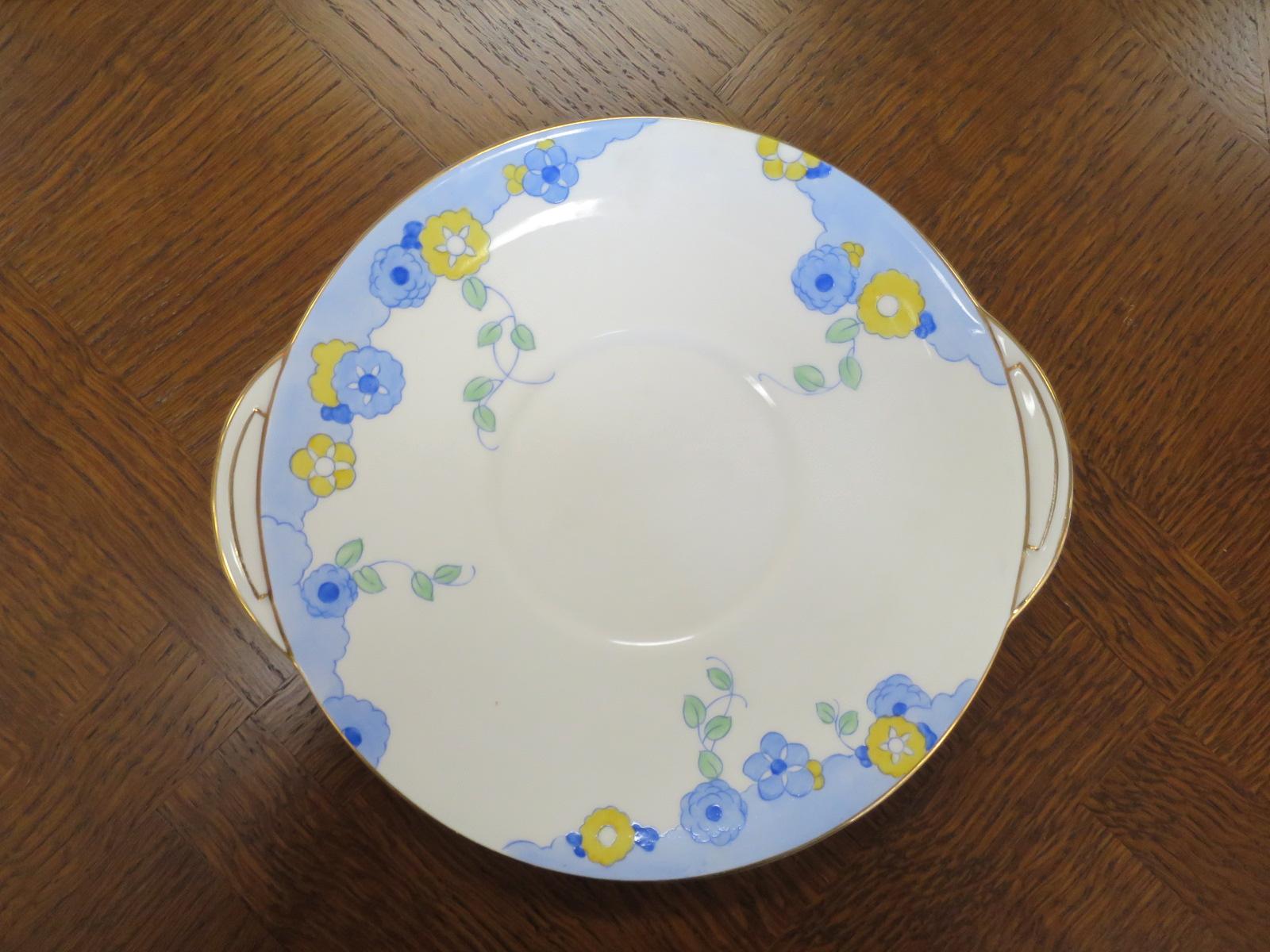 Royal Doulton Art Deco Cake Plate