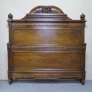 Walnut Queen Size Bed