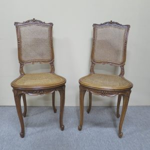 French Walnut Occasional Chair