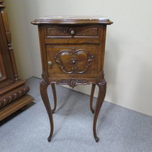 French Walnut Louis XV Style Bedside