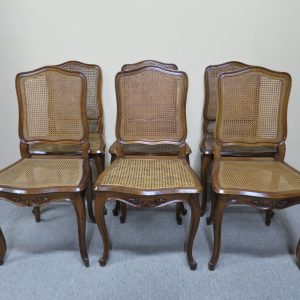 French Walnut Dining Chairs